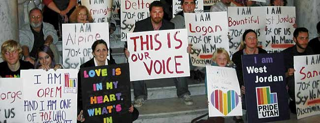 Photo of Dozens attend 'This is our Voice' rally at 2011 General Session opening