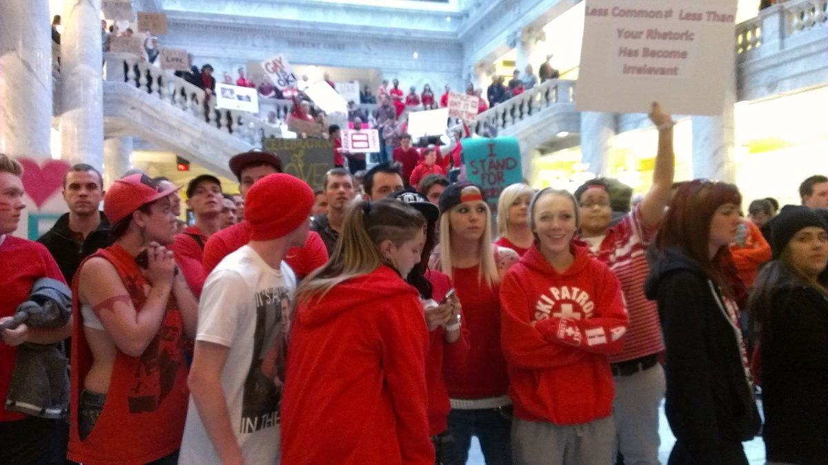 Photo of Traditional marriage rally at Utah Capitol becomes celebration of all marriage
