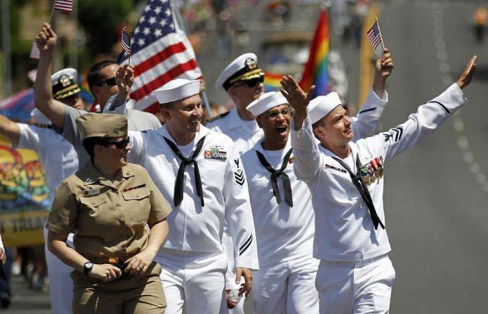 Photo of Marine Corps approves uniforms for San Diego Pride