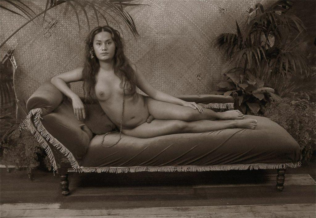 Photo of Trans* artist Shigeyuki Kihara featured in UMFA's 'salt 8'