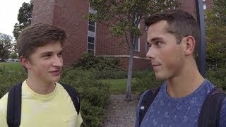 Photo of Video: Asking guys if they think I'm gay