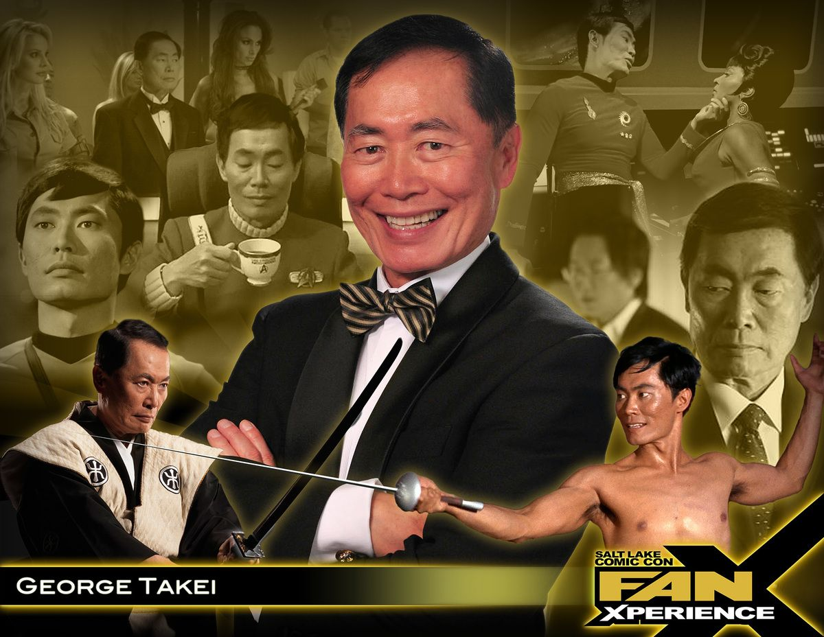 Photo of Oh Myyy! George Takei coming to Salt Lake Comic Con FanX