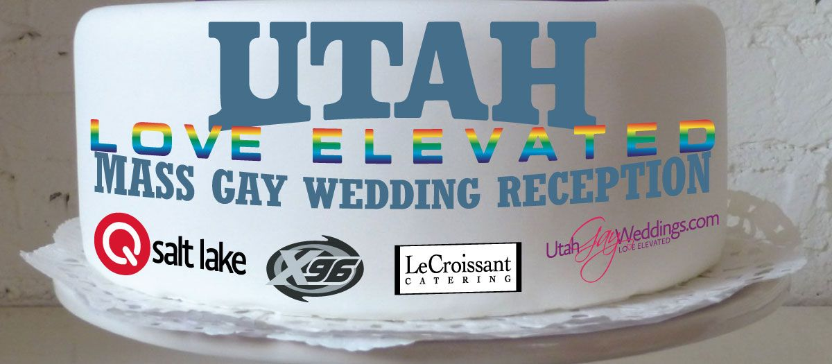 Photo of Love Elevated — a reception to celebrate Utah's same-sex marriages
