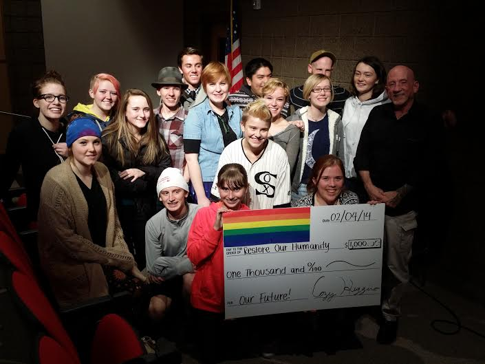 Photo of Park City High School students raise money for marriage equality