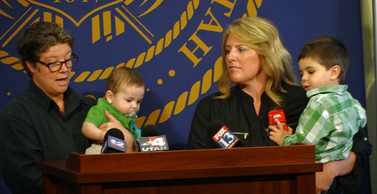 Photo of Utah Attorney General steps into private adoption cases of legally married same-sex couples