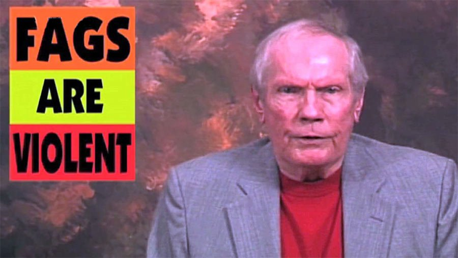 Photo of Westboro 'Church' founder Fred Phelps on death bed after excommunication, says son