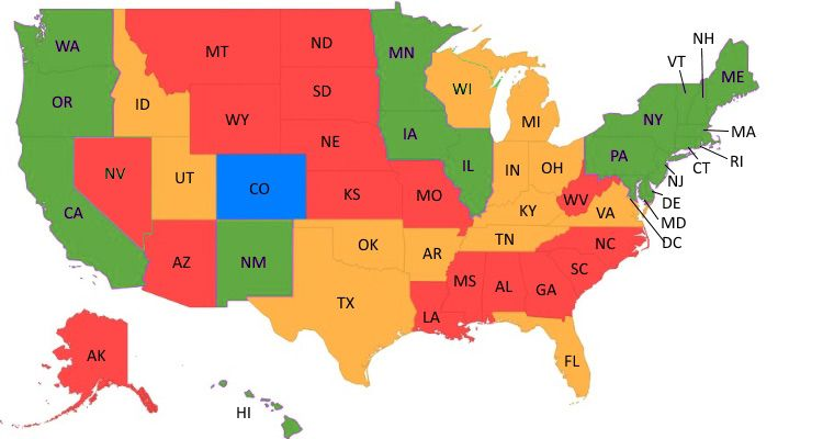 Photo of State-by-state status of same-sex marriage