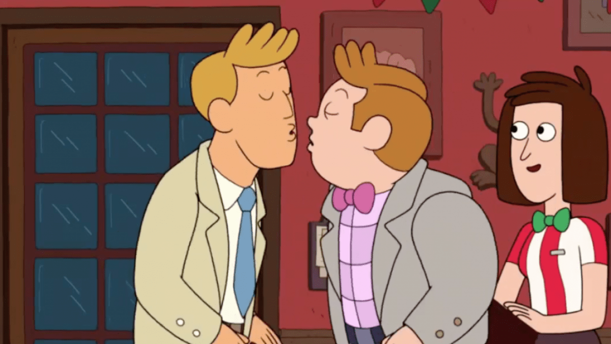 Photo of Cartoon Network misses gay kiss by 4 pixels