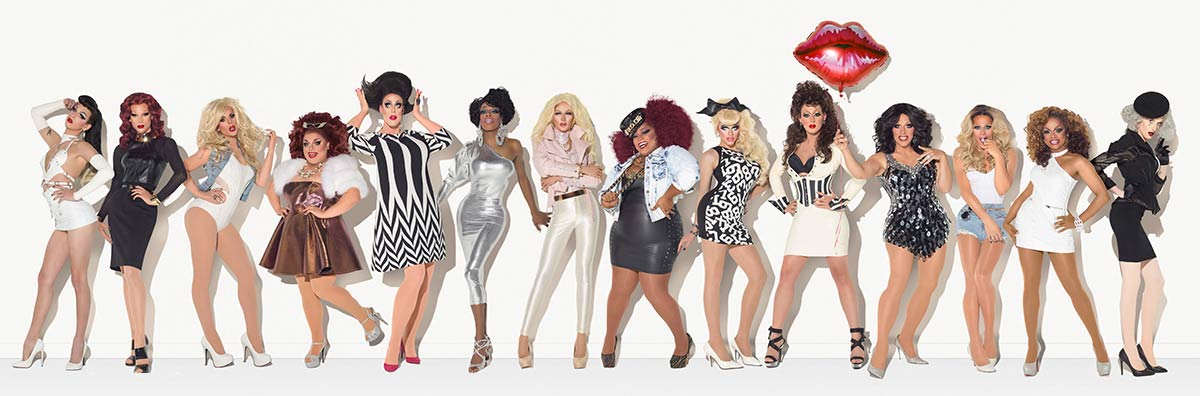 Photo of 'Ru Paul's Drag Race' season 7 contestants announced