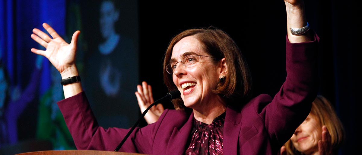 Photo of Oregon's Kate Brown set to become first openly bisexual governor