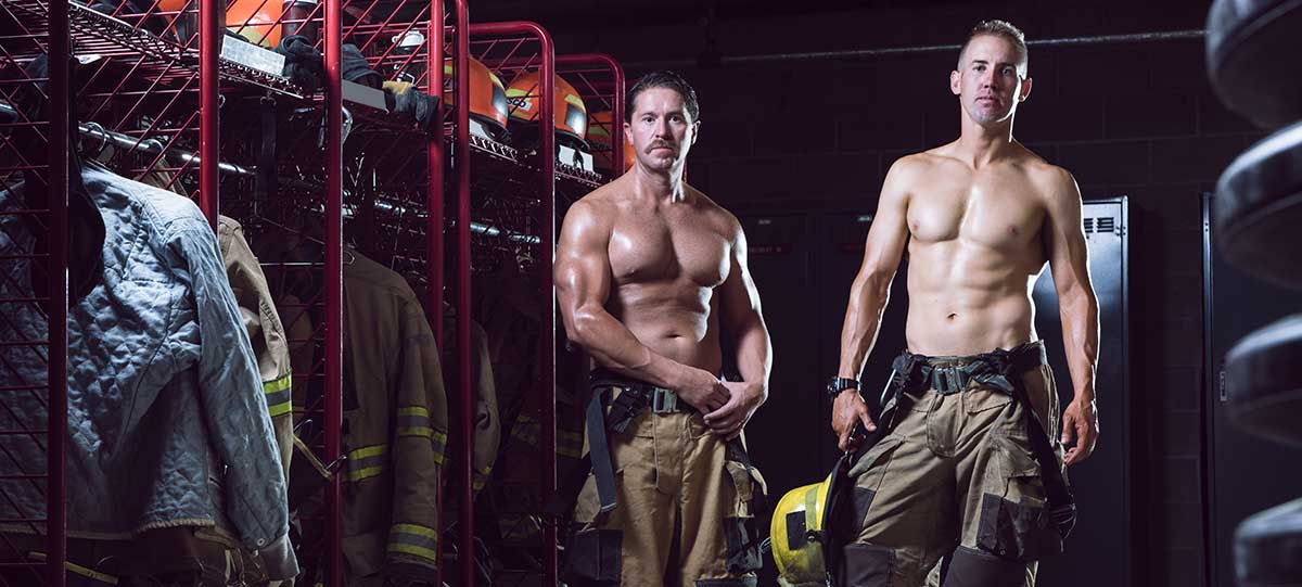 Photo of Firefighter calendar raises funds for cancer organization