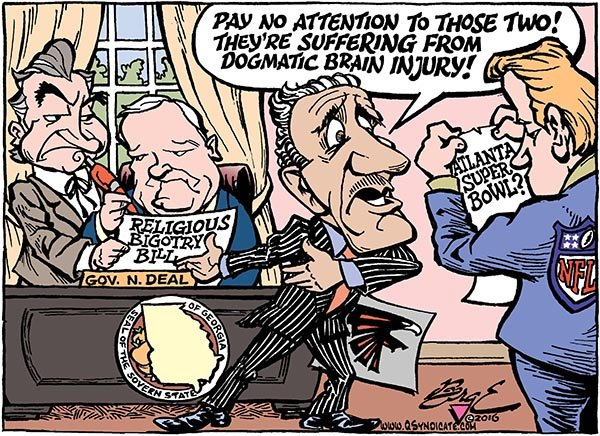 Photo of Cartoon – Deal, No Deal
