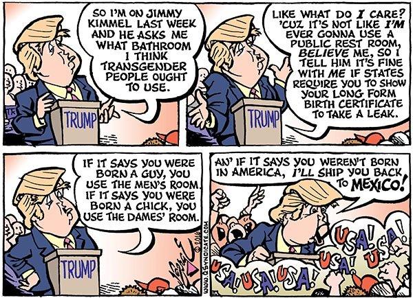 Photo of Cartoon – Stall Tactics