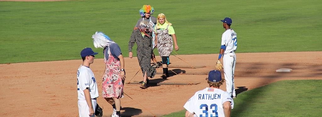 Photo of Ogden Raptors end tradition of 'drag queen' field grooming