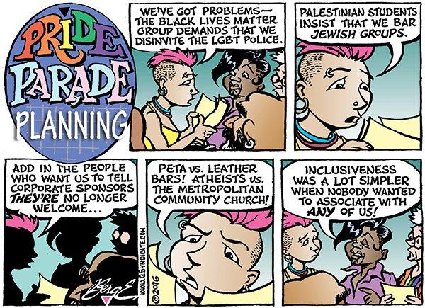 Photo of Cartoon – Pride Parade Planning