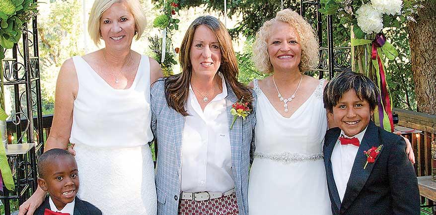 Photo of Mayor Biskupski weds fiance