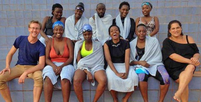 Photo of Former Utahn leads Ugandan swim team to international victory