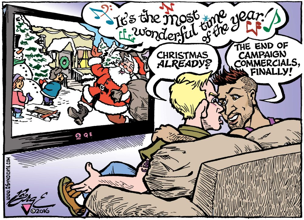 Photo of Editorial Cartoon: Need a Little Christmas?