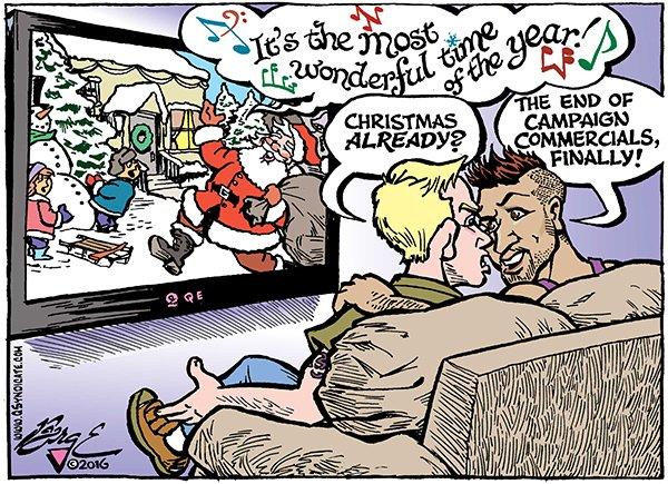 Photo of Cartoon – Need a Little Christmas?