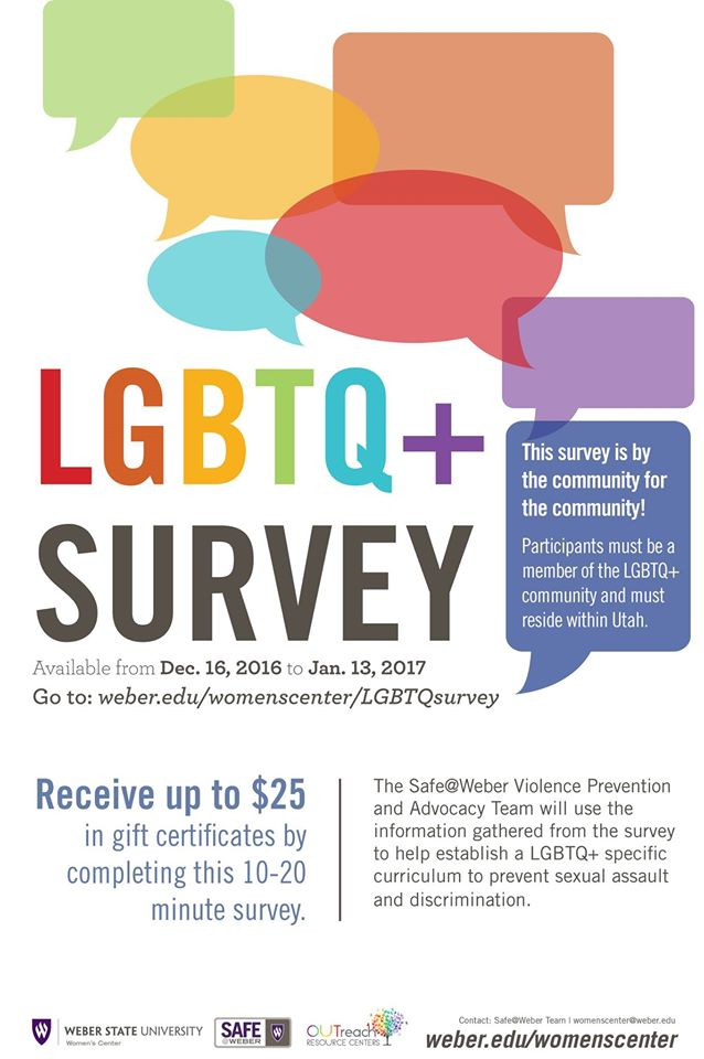 Photo of WSU Women's Center doing LGBT survey