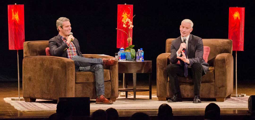 Photo of An interview with Andy Cohen, who is coming to Salt Lake with Anderson Cooper