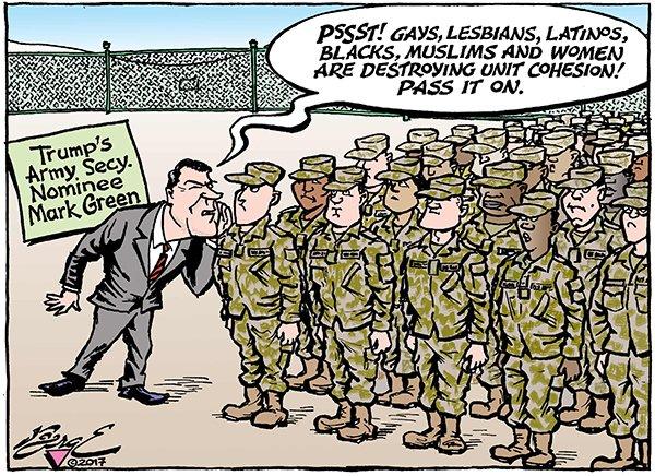 Cartoon – Army Deranger