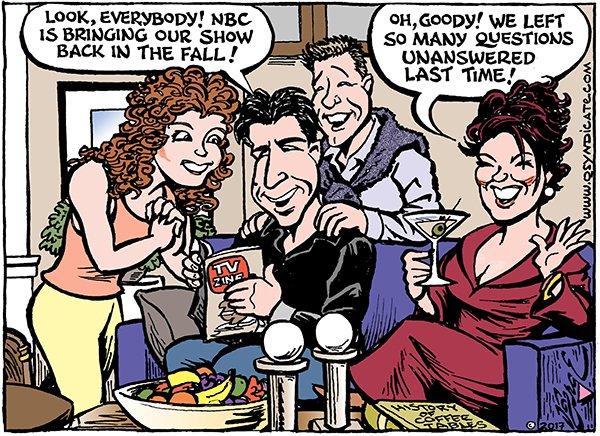 Photo of Cartoon – Will & Grace TNG