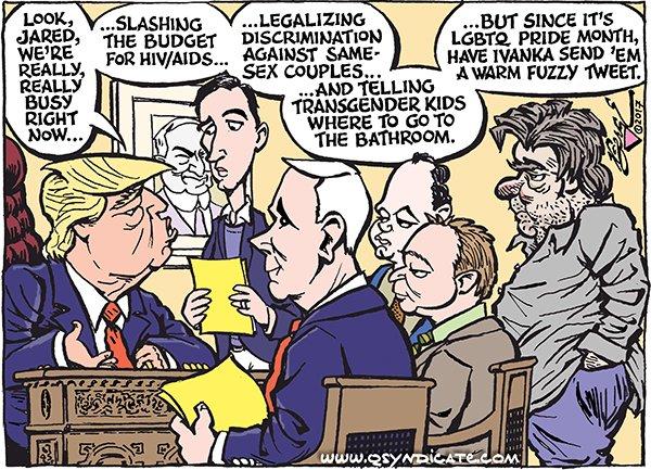 Photo of Cartoon – Really, Really Busy