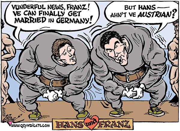 Photo of Cartoon – Hans und Franz