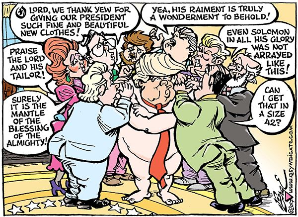 Photo of Cartoon – Laying It On