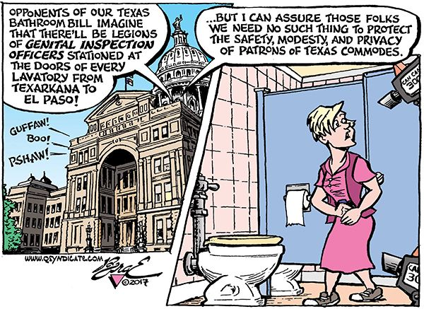 Photo of Cartoon – The Eyes of Texas