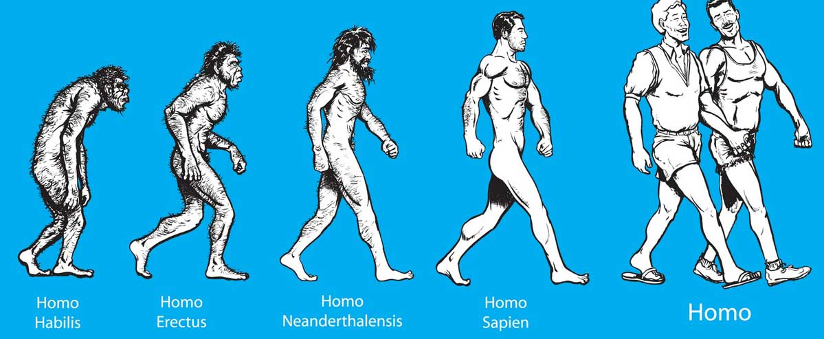 Photo of 6 Reasons Why Gay People Are a Higher Form of Evolution