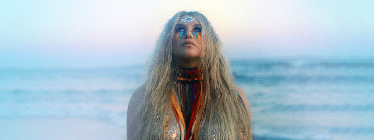 "Photo of Kesha to LGBT community: ""Rainbow' was made for you.'"