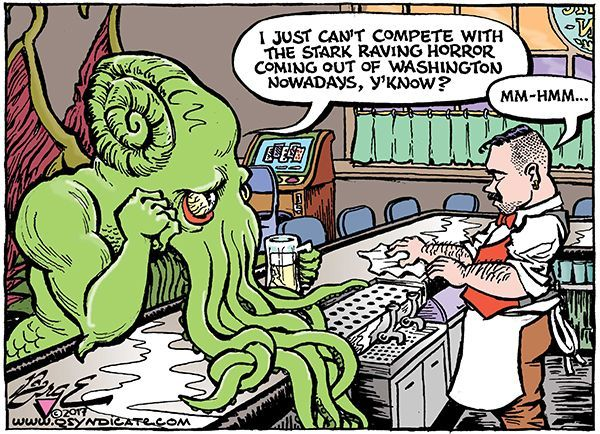 Photo of Cartoon – What's a Cthulhu to Do?