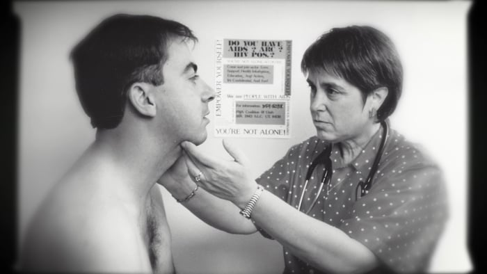 Photo of HIV/AIDS in the 80s