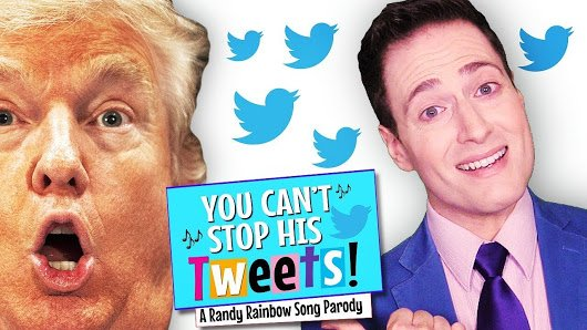 Photo of Video: 'You Can't Stop His Tweets!' by Randy Rainbow