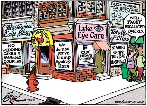 Photo of Cartoon – Selective Service