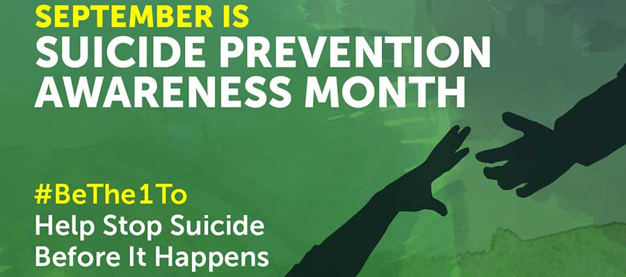 Photo of Suicide Prevention Week: #bethe1to help stop suicides