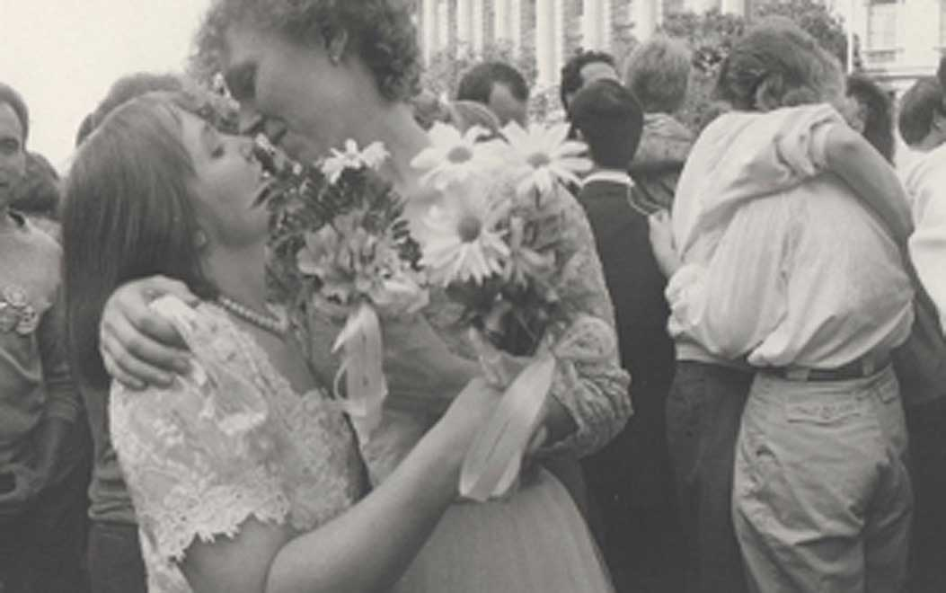 Photo of 1987 National March on Washington for lesbian and gay rights