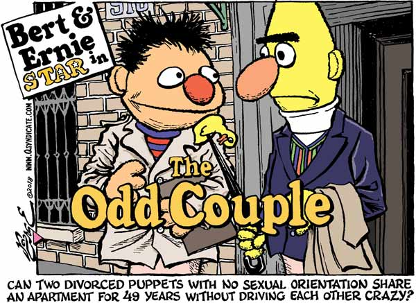 Photo of Cartoon – The Importance of Bert and Ernie