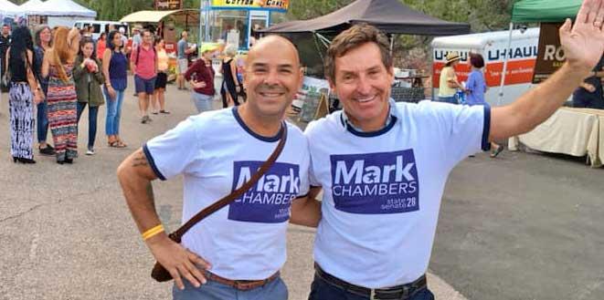 Photo of Mark Chambers loses his bid for the Utah State Senate in Southern Utah