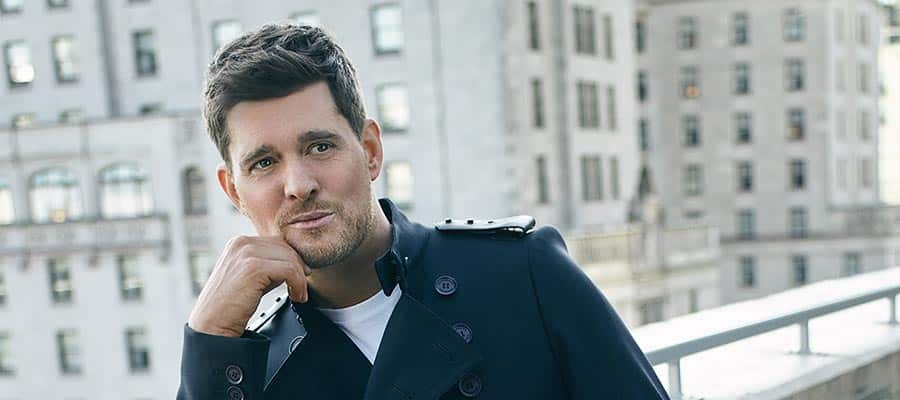 Photo of Michael Bublé gets into the heavy stuff