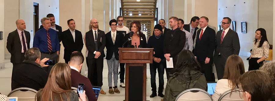 Photo of Utah bill to prohibit conversion therapy to minors is announced