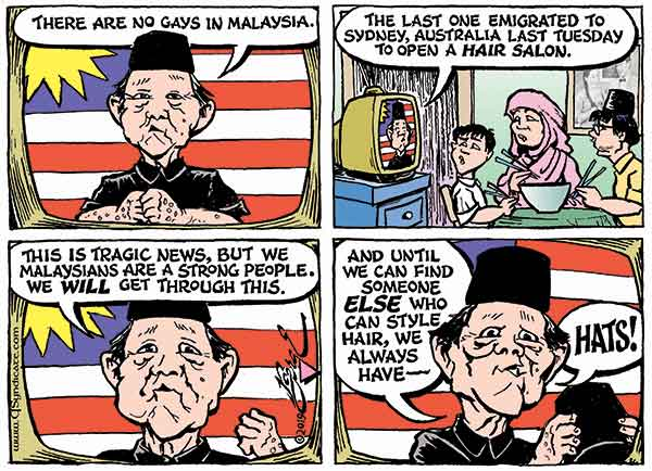 Photo of Cartoon – Malay Malaise