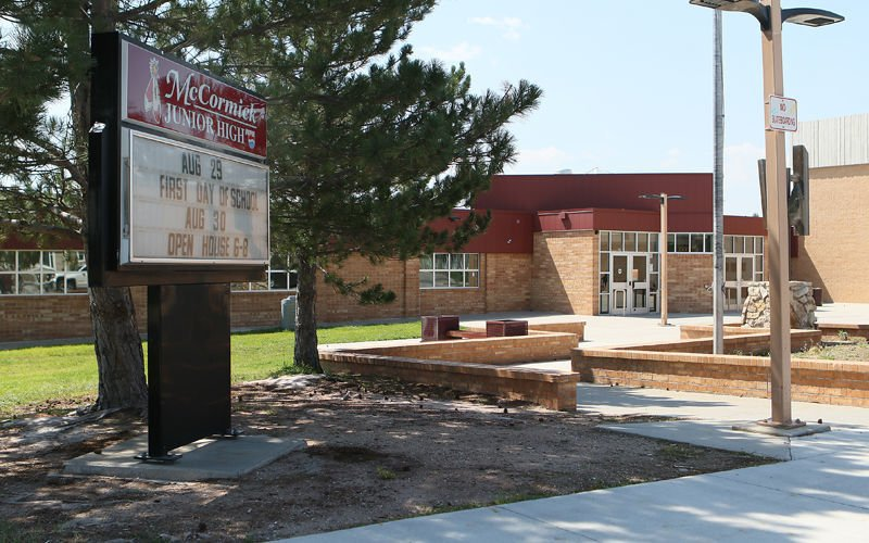 Photo of Wyo. junior high riddled with homophobic, racist flyers