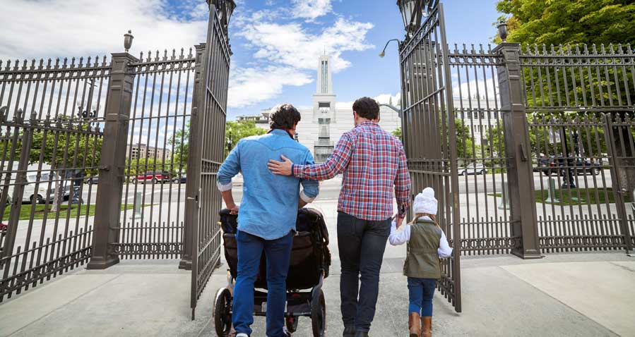 Photo of LDS Church backtracks on same-sex marriage apostasy and blessings, baptisms of children with LGBT parents