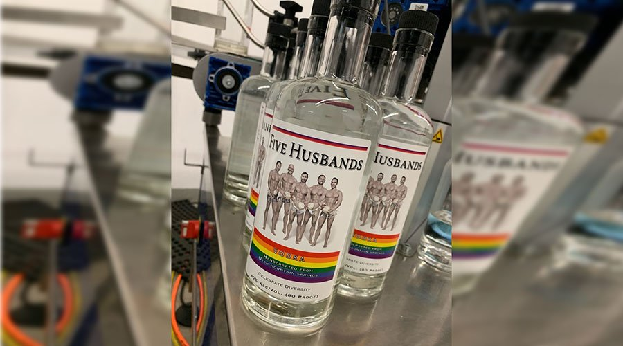 Photo of Five Wives Vodka to be rebranded for Pride as Five Husbands Vodka