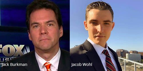 Photo of Jacob Wohl and Jack Burkman