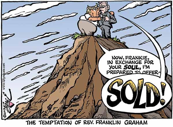 Photo of Cartoon – The Temptation of Graham