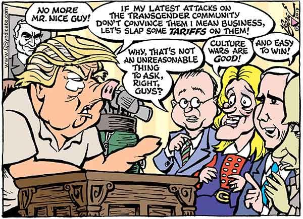 Photo of Cartoon – Mr. Nice Guy